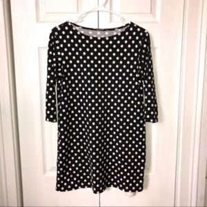 Marimekko Polka Dot Shift Tunic Dress